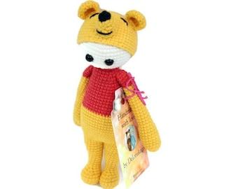 Amigurumi Winnie The Pooh : Amigurumi crochet winnie pooh Etsy