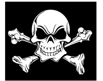Jolly Rogers Decal