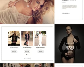 Online shop fashion,  e-commerce website design, web design, graphic design sites