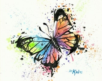 Butterfly 3 *Original Watercolor Painting*