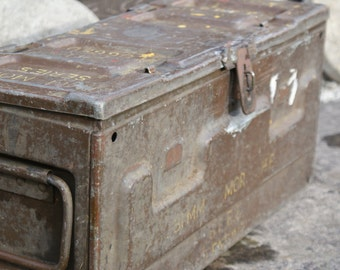 Large British mortar ammo box