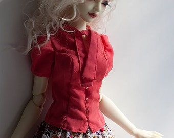 SD BJD Clothes - Pink Summer set for SD16 Girl