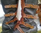 Harley-Davidson free shipping !!!!! biker boots vintage