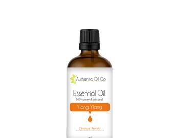 Ylang Ylang Essential Oil 100% Pure 10ml 50ml 100ml 250ml 500ml 1 litre