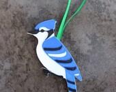 Blue Jay (Cyanocitta cristata) Ornament
