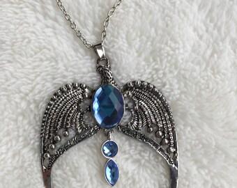 Harry Potter Horcrux Ravenclaw Lost Crown Pendant Necklace