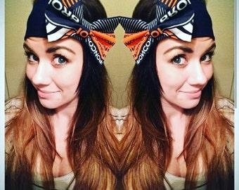Denver Broncos Bow Headband!