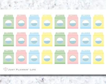 Final Sale - Washing Machine Stickers