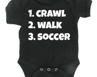 Custom Infant Soccer Onesie