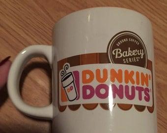 Vintage Dunkin Donuts mug.
