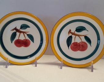 Stangl Fruit Coasters (2) #3697