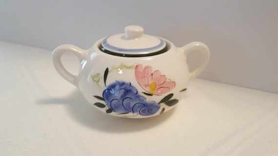 Stangl Fruit and Flowers Sugar Bowl #4030