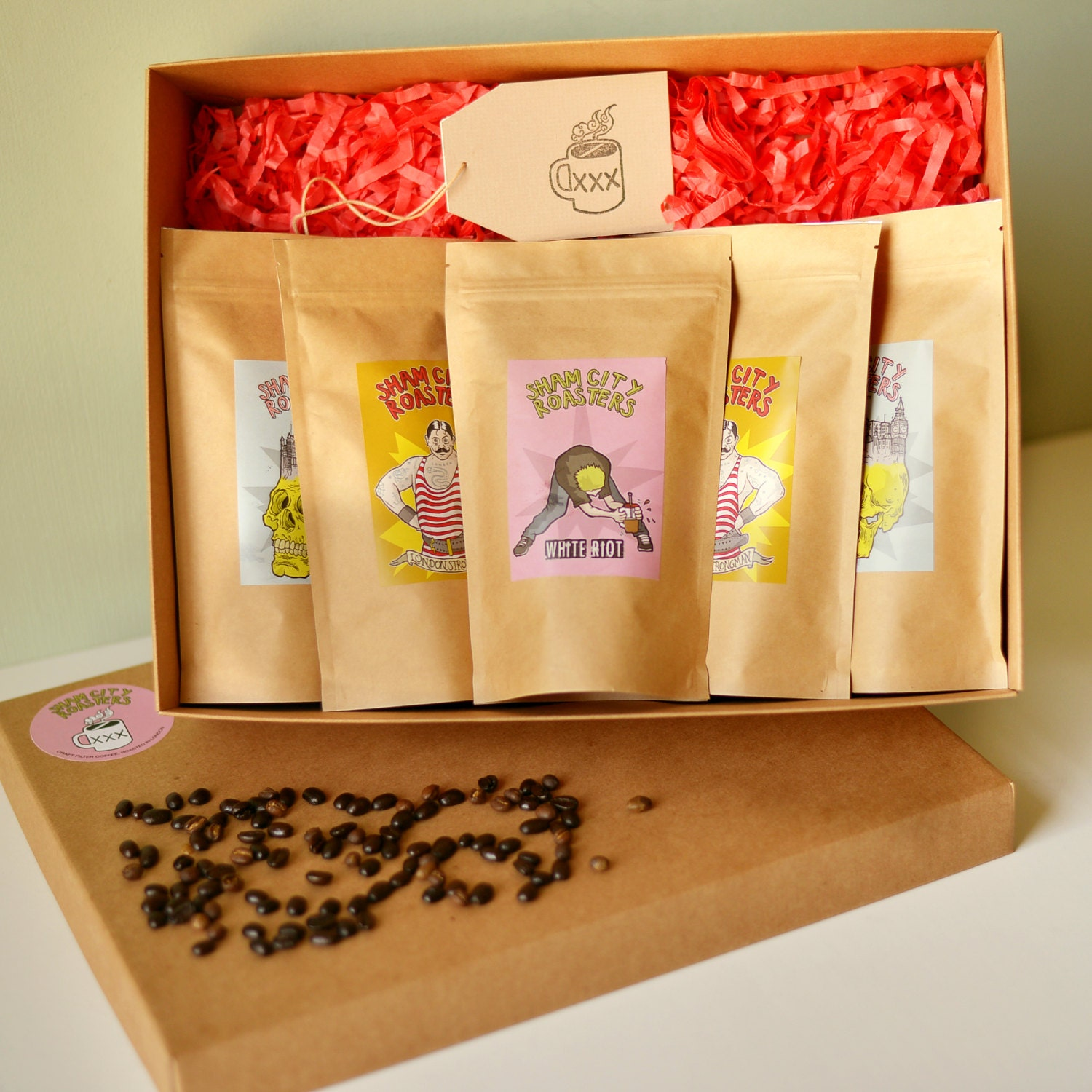 gift sets sham city roasters