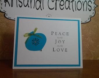 Blue Peace Joy Love