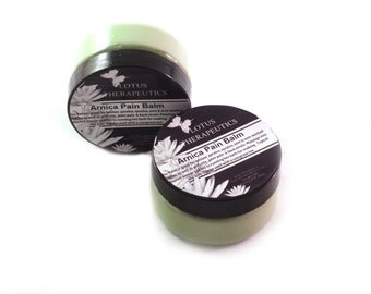 Arnica Pain Balm: Blend of 7 Organic Herbs 15 Essential Oils for Pain & Inflammation