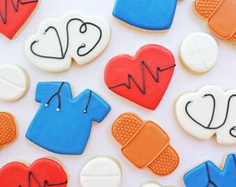 Nurse//Doctor Sugar Cookies