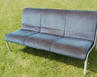 Fab! Retro! Trendy - Metal Frame - 3 Seater Studio / Loft Living Sofa