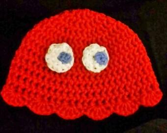 Custom Pacman Ghost Hat