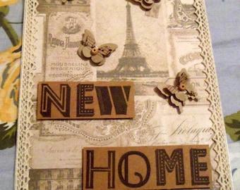 New Home Card - Parisian Theme