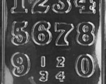 Number Big and Small 1-9 Chocolate Mold