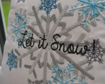 Let It Snow! Christmas Cushion