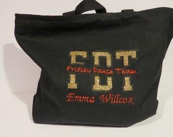 Custom Applique Tote Bag