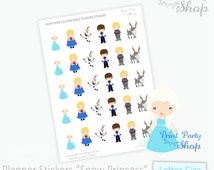 Frozen Planner Stickers / Printable Stickers