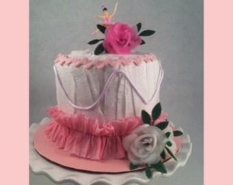 Rose Ballerina Surprise Cake