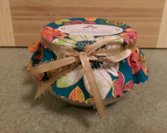 Sold out temporarily... Very Vanilla All Natural Soy Candle -  11oz Tureen Jar