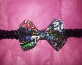 Star Wars baby headband