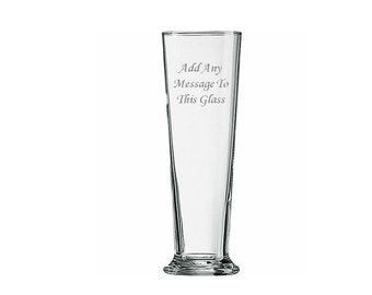 Personalised Engraved Glass Vase