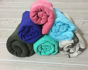 6 newborn wraps
