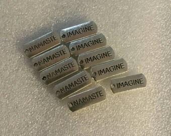 Namaste & Imagine Charms 20PC