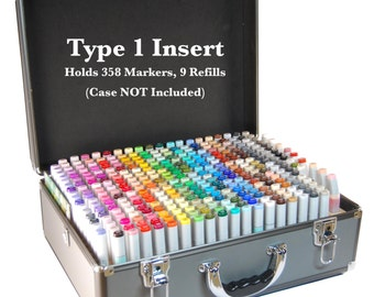 Copic Marker Storage TYPE 1 Organizer for Copic Art Carrying Case (Insert Only)