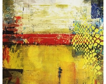Artmoshphere by Linda Charles - Original Abstract Art Contemporary Modern on Board