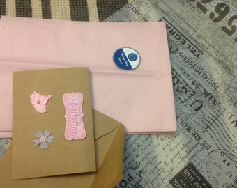ADD Ballerina Gift Wrap Package (BOX Included) and a Personalized Card