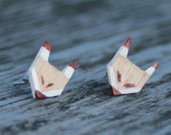 Earrings Fox (small)