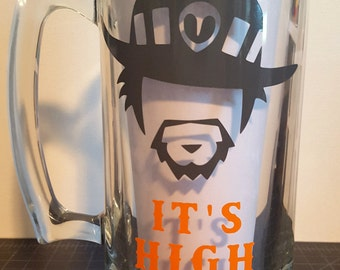 McCree It's High Noon beer glass
