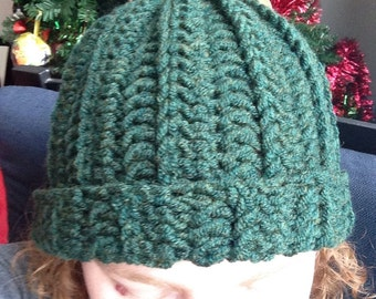 Basic Crochet Hat in the Color of Your Choice