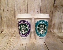 Personalized Starbucks Coffee Cups, Custom Coffee Cup, Travel Mug, Gift for Teacher, Gift for Her,Birthday Gift, Christmas Gift