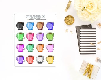 Tea Time Mug Stickers