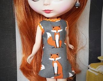 Custom Blythe dress Foxy Lady