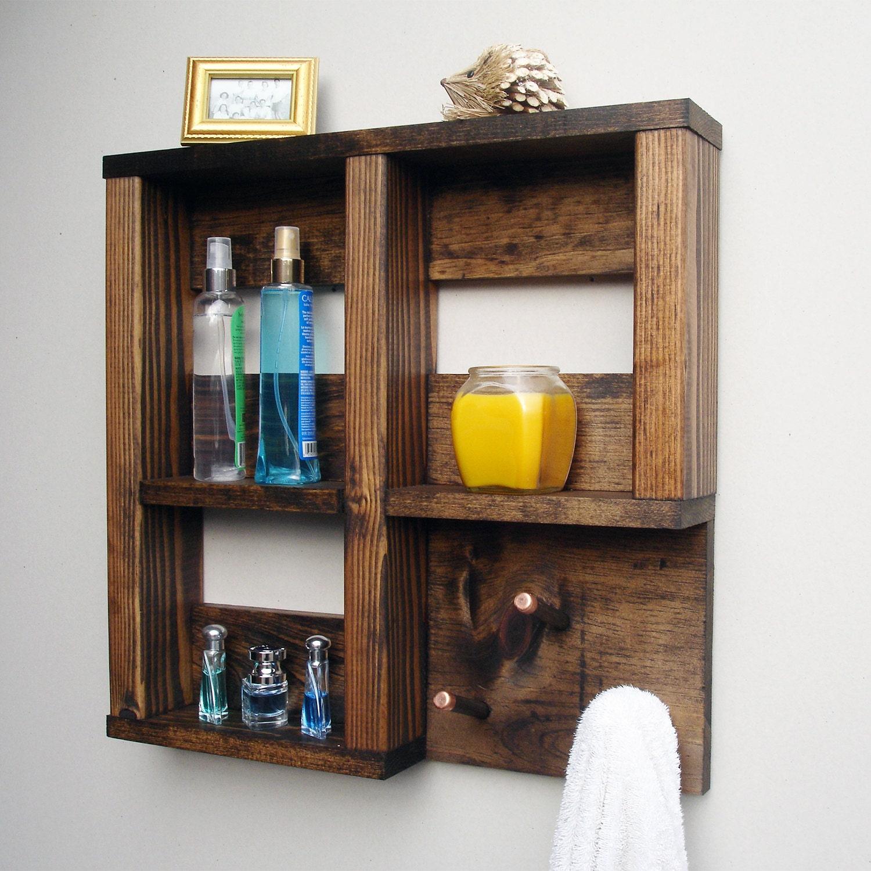 Wooden Shelves For Bathroom: Wooden Bathroom Shelves