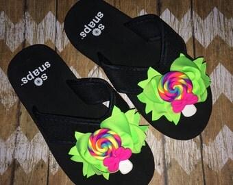 Custom Bow Flip Flops (BFFs)