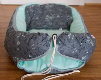 Baby nest organic mint