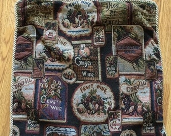 Vintage Tapestry Cushion Case