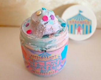 Cotton Candy Whipped Soap 4oz.