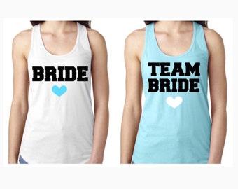 Team Bride Racerback Tanks