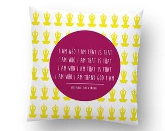 NEW! /Yoga Pillow/Kundalini Pillow / Namaste Pillow