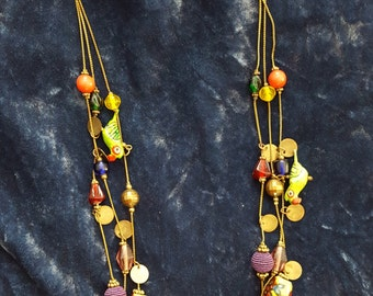 Spanish-style bauble necklace